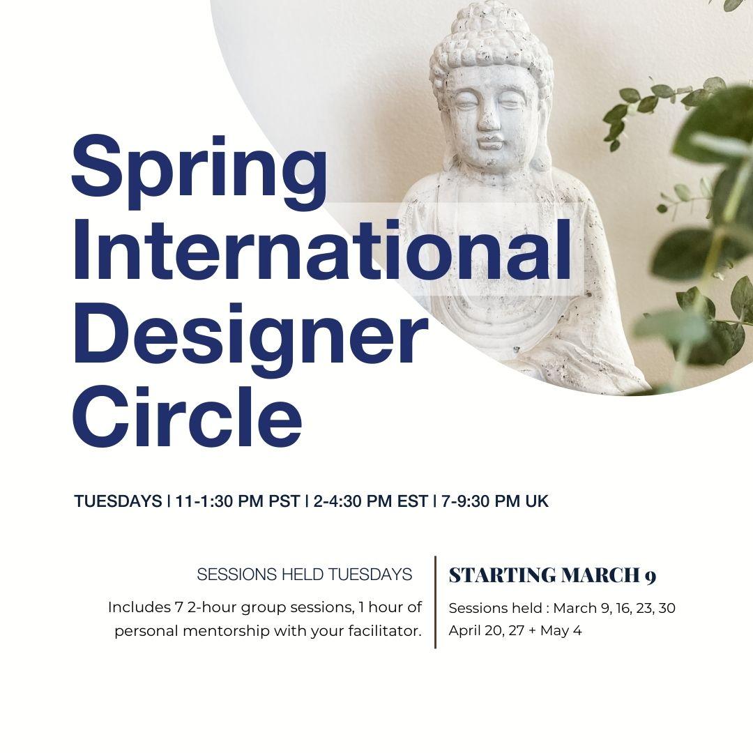 Spring Designer Circle