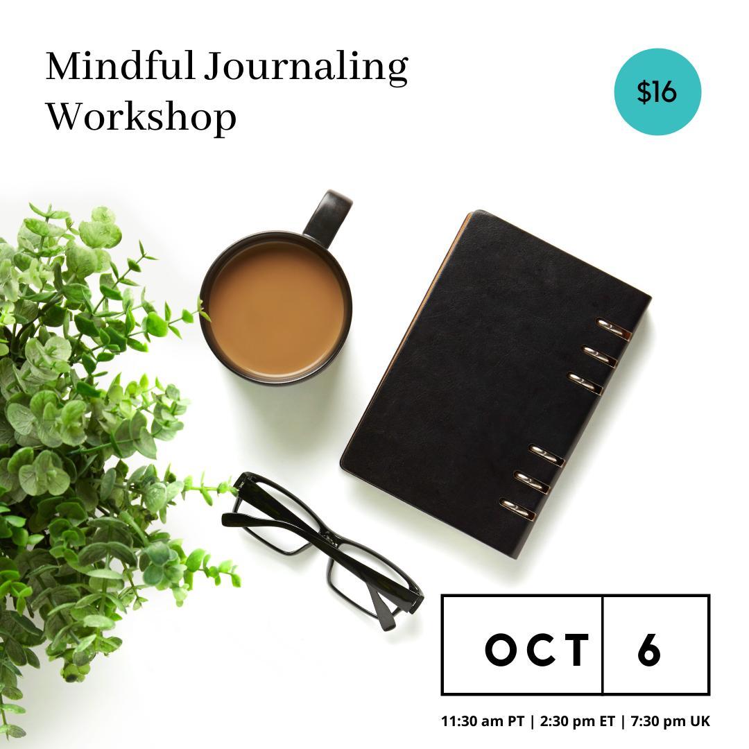 Mindful Journaling Workshop – October 6