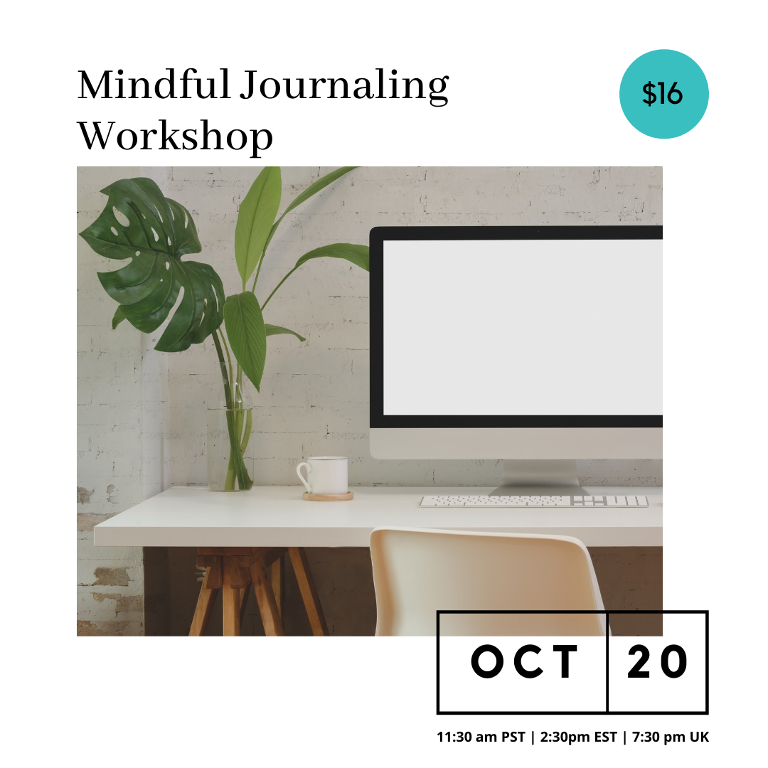 Mindful Journaling Workshop – October 20