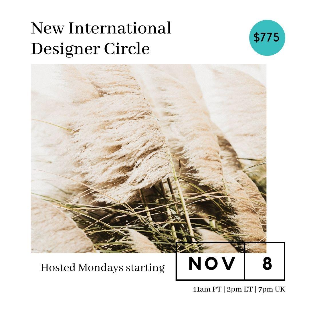 Designer Circle – November 2021